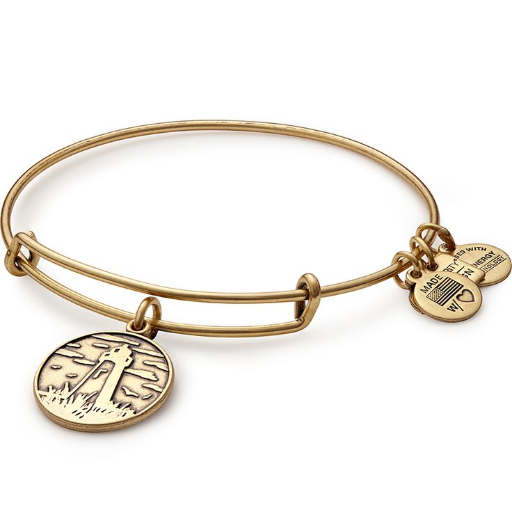 Lighthouse Charm Bangle | The Leukemia & Lymphoma Society | ALEX AND ANI