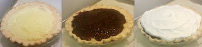 Amish Raspberry Cream Pie. -- I believe this is the same pie they serve at Der Dutchman,,, gonna have to try this! Yummmmo! :)