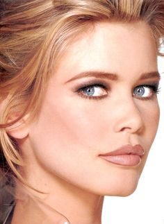 claudia schiffer before and after makeup - Google Search