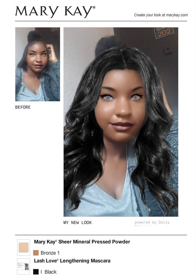 I Just Got A Great New Look Using The Free Mary Kay Virtual Makeover Try It Out For Yourself And Then Share It With All Virtual Makeover Makeover Hair Color