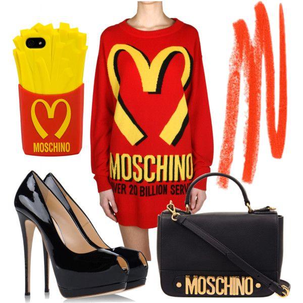 I speak Moschino