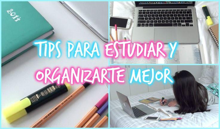 ♡ TIPS PARA ESTUDIAR Y ORGANIZARTE MEJOR EN EL COLEGIO ♡