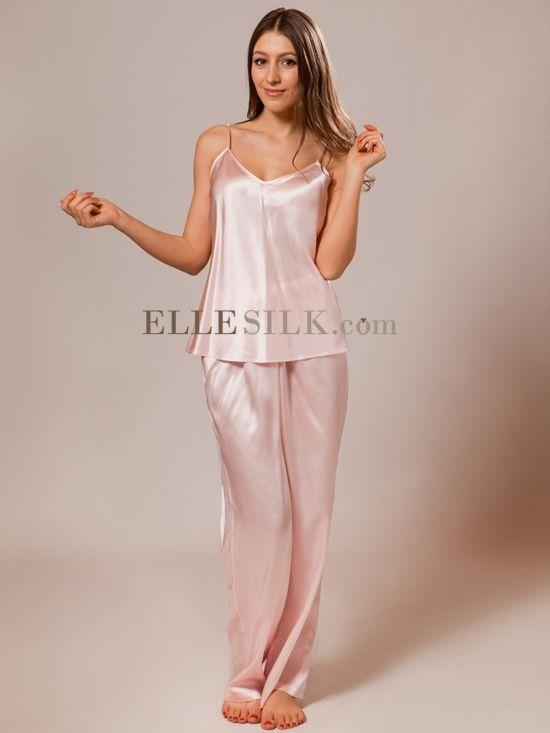sexy silk pajamas teens