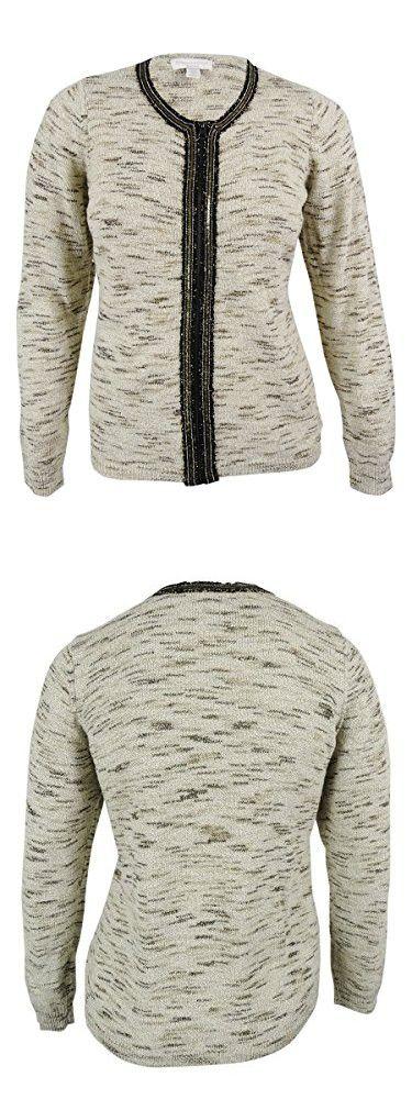 JM Collection Sweaters   Jm Collection Xxl Cardigan