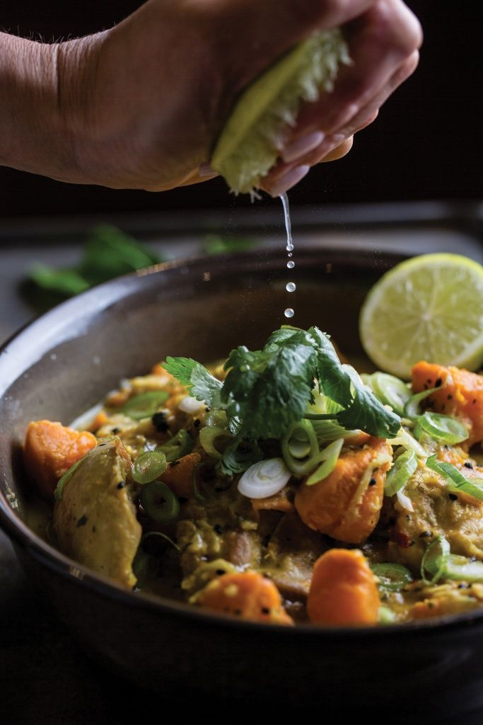 Chicken, Sweet Potato & Coconut Curry   TMix+