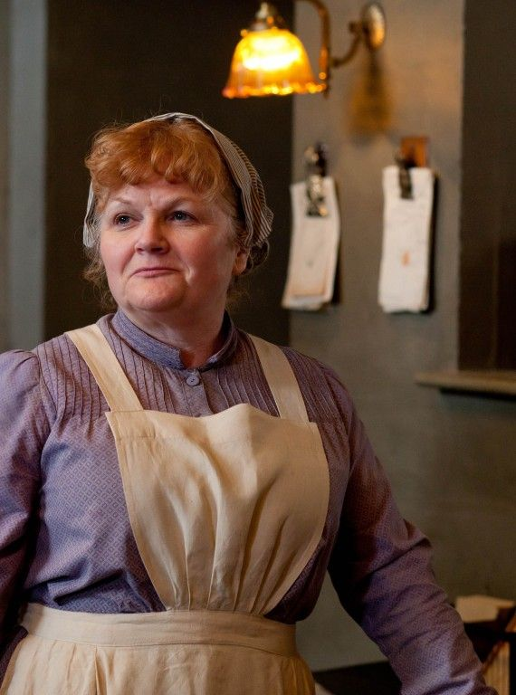 downton abbey season 3: i wish i had a mrs patmore to run my kitchen!!