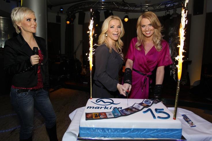 Aha, čo sme vyhrabali! Kvetka, Martina a Marianna na oslave 15tych narodenín televízie Markíza v roku 2011. Spomínate si ešte na narodeninové upútavky? Pozrieť si ich môžete na https://www.facebook.com/video/video.php?v=2160113211371