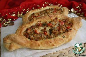 "Рецепт: Турецкая пицца ""Пидэ"""