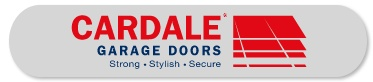 Cardale Garage Door logo. The Garage Door King supply a range of doors from Cardale, who make quality garage doors at a reasonable price.