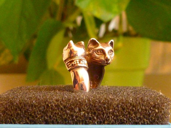 La madre y el anillo de gatito, con el Collar de la Marcasita, en.925 plata esterlina