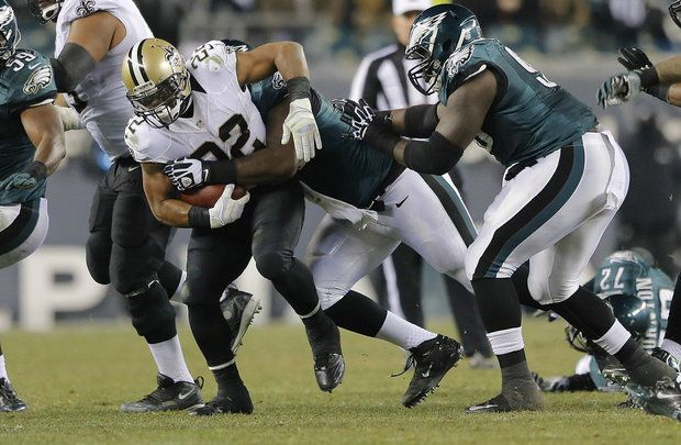 Mark Ingram bulls his way forward versus the Eagles in the NFC  2014 Wild Card Playoff game.  Saints News - Follow Us Today Website: www.SaintsNews.net  Facebook: www.facebook.com/saintsnews - @Joan Rachlitz Bowell News Twitter: www.twitter.com/saintsnews - @Joan Rachlitz Bowell News Radio:  www.blogtalkradio.com/saintsnews
