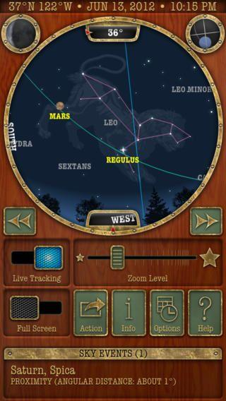Classic Sky Map #planetarium