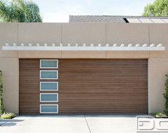Modern Garage Doors, Custom Designed And Handrafted For A Customized Modern  Home Modern Garage Doors
