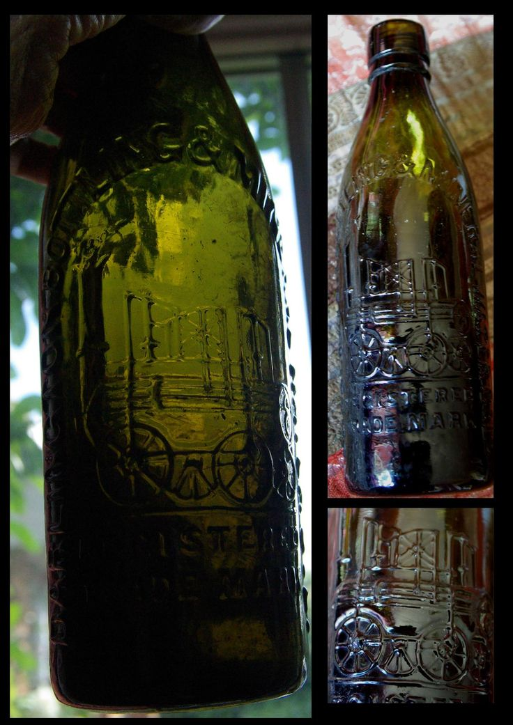 A glass bottle with the Locomotion Number 1 cast into the glass I found in a junk shop long ago