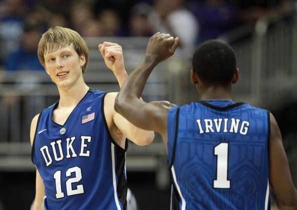 Kyle Singler and Kyrie Irving