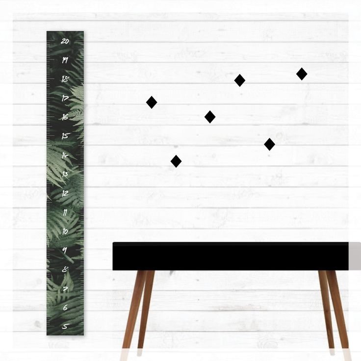 wild rainforest height growth chart, ferns, scandi, modern, photography, scandinavian, beach, boho, canvas, wall decor, home decor, interior styling, home styling, kids bedroom, kids room, boho home