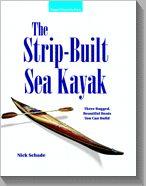 The strip built sea kayak.