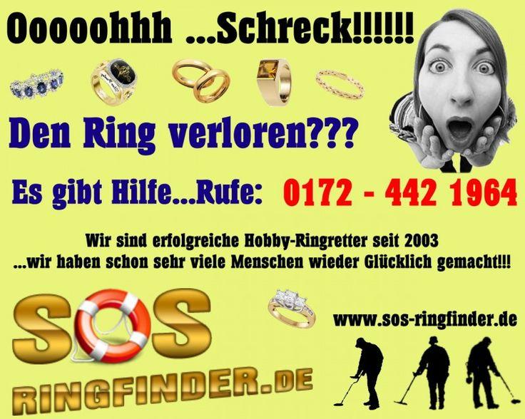 Ring verloren...wer kann mir Helfen??? - Aktivsucher - Forum