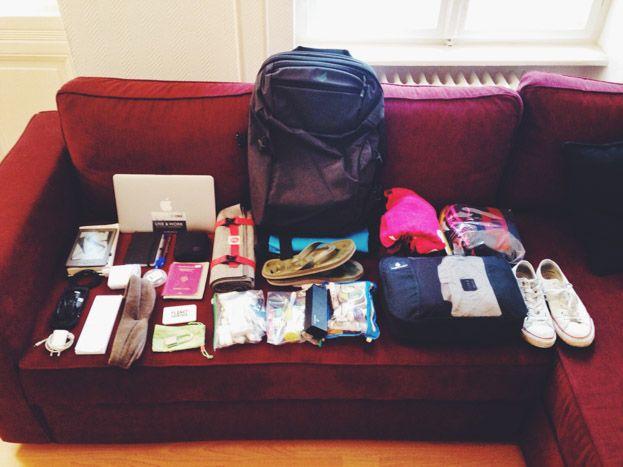 Packliste Handgepäck: Leichtes Reisen für Digitale Nomaden Minimalisten