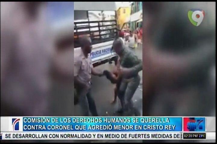 Derechos Humanos Se Querella Contra Coronel Agredió Menor