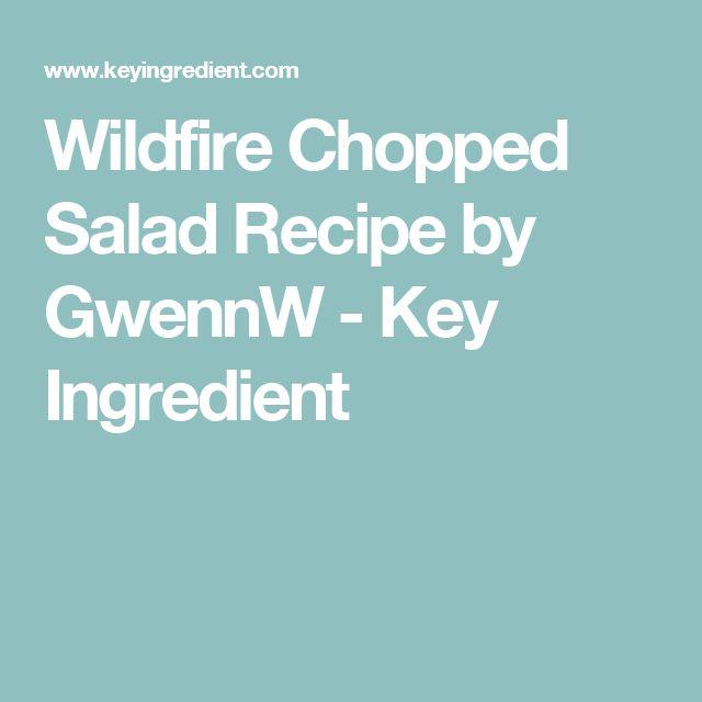 Wildfire Chopped Salad Recipe by GwennW - Key Ingredient