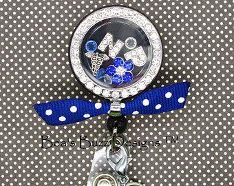 REEL-LOCKET™ - Locket,Retractable badge reel,Badge Clip,Floating charm memory locket,floating Locket,Floating Charm,RN,Nurse,Nurse Gift,Id