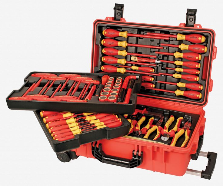 Wiha Tools Insulated 80 Pc Set In Rolling Tool Case