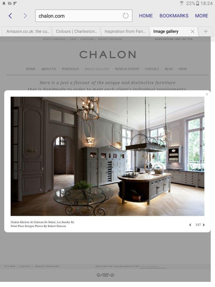 Marvelous Kitchen, Chalon Dans Chateau De Belair, Les Bordes/colour Of Cabinets