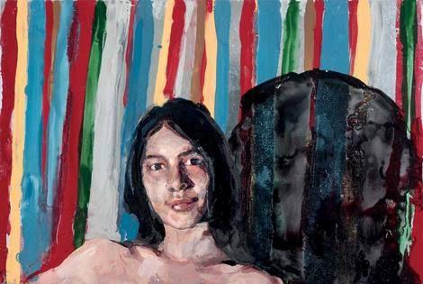 Geraldine Swayne, Geraldine Swayne, The Black Shape on the Right is Your Future Demise, 2015. on ArtStack #geraldine-swayne #art