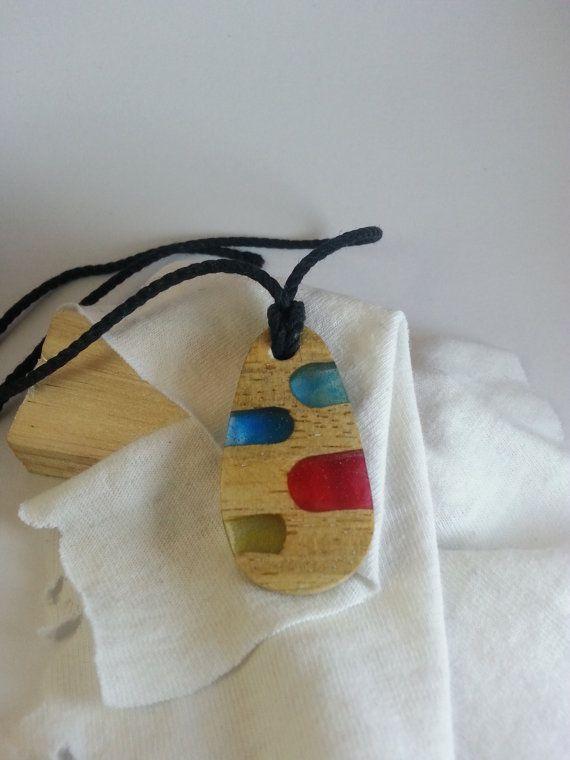 Pendant  Etsy shop https://www.etsy.com/listing/506458051/wood-resin-necklace-epoxy-resin-resin