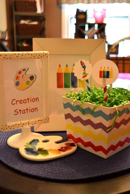 Intrest Kindergaten Craft Ideas