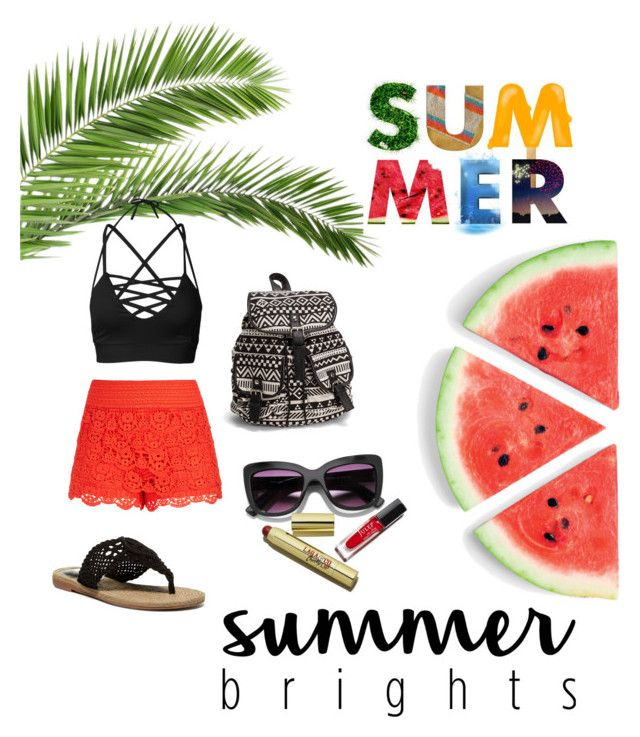 """""""Vacation babe!"""" by chrysapan on Polyvore featuring City Chic, MIA and NLY Accessories"""