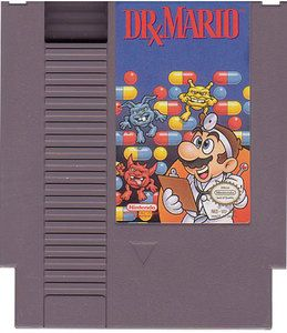 Dr. Mario - NES Game Original Nintendo NES game cartridge only. All DK's classic used games are cleaned, tested, guaranteed to work and backed by a 120 day warranty.Mario mixes vitamin capsules made o