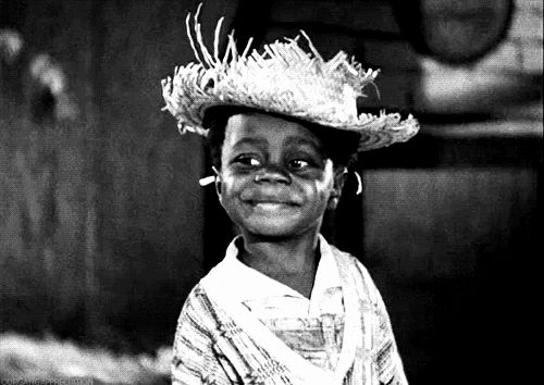 boomunderground vintage children little rascals buckwheat