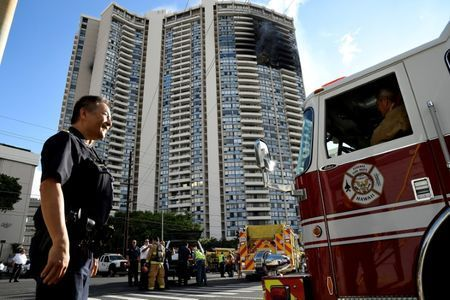 #Probe into #fatal #Hawaii tower fire gets under way...