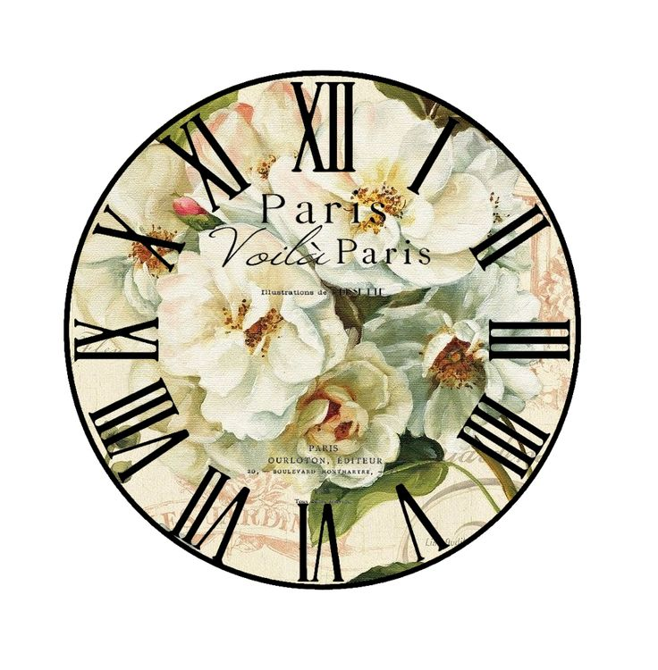 Best Printables  Clock Faces Images On   Wall Clocks