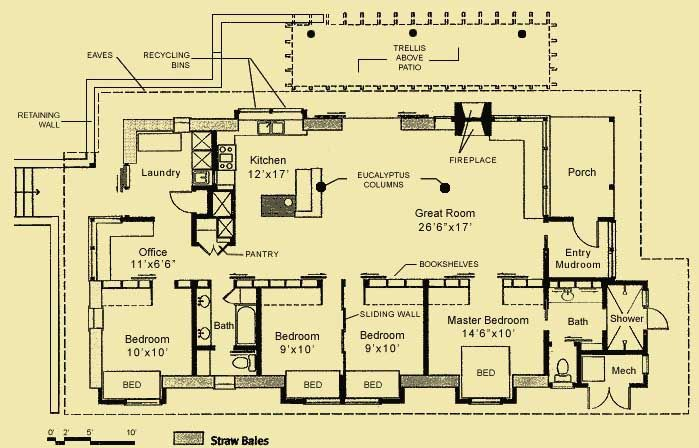 Passive solar house plans cost effective and eco for Small passive solar home plans
