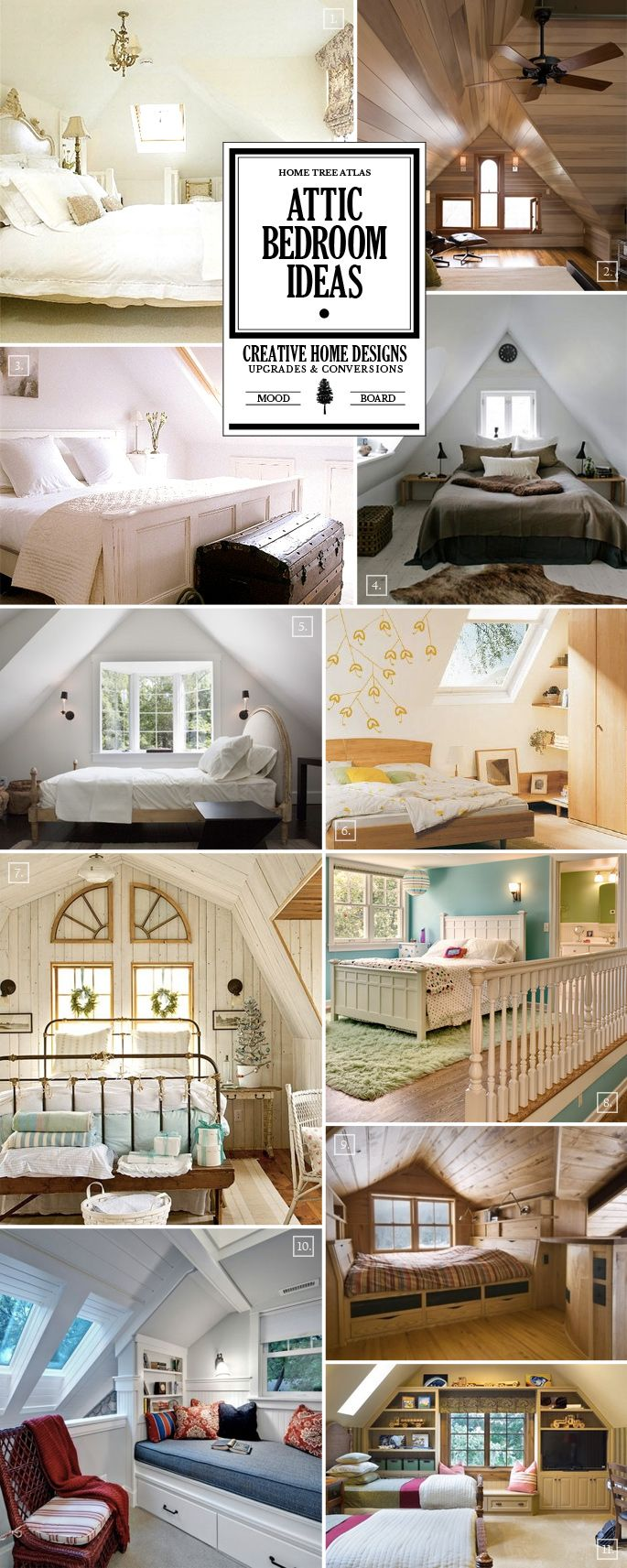 There aren't that many differences when it comes to attic / loft bedroom ideas versus designing any other bedroom in the house. Have a look at my Bedrooms Mood Board Collection page for more specific design ideas and styles. The Uniqueness of an Attic You will likely have an oddly shaped room with angular walls […]