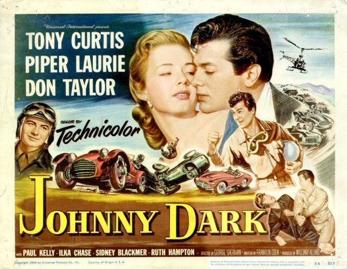 Forgotten Fiberglass – Vintage 'glass and the big screen: Johnny Dark, 1954 | Hemmings Blog: Classic and collectible cars and parts