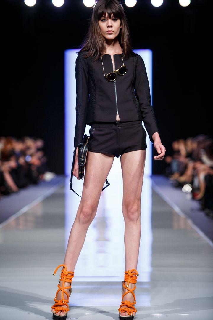 Ewa Wladymiruk <3 MOHITO SS14 #ss14 #fashionweek