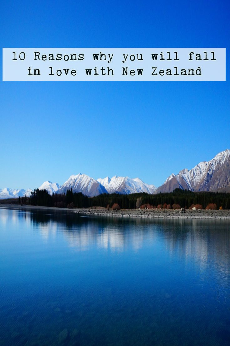 10 Reasons You Will Fall in Love with New Zealand.
