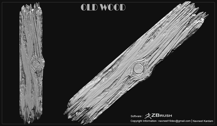 ArtStation - WOOD, Navneet Kardam