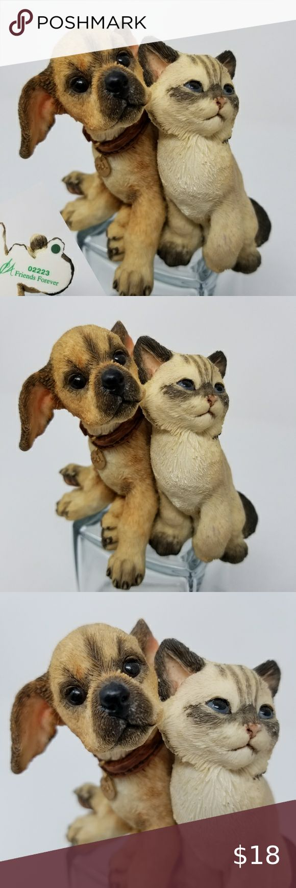 Ca Figurine Puppy Kitten Dog Cat Friends Forever Ca Figurine Puppy Kitten Dog Cat Friends Forever Numbered 02223 Box 3 Ca Other In 2020 Kitten Dog Cat Puppies