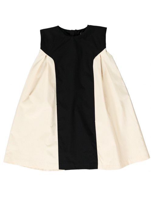 Pure Girls Pleat Side Dress | New Generals