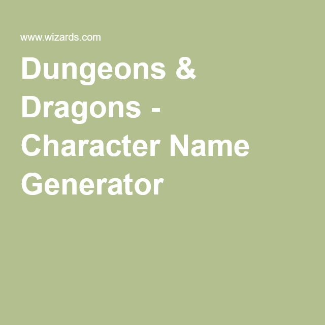1000 ideas about character name generator on pinterest vladimir