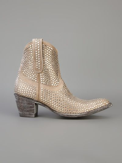 Mexicana - studded ankle boot 2