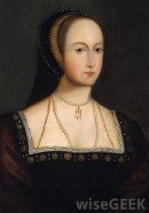 Mary and Anne Boleyn Portraits | Anna Boleyn, portret z XVII wieku