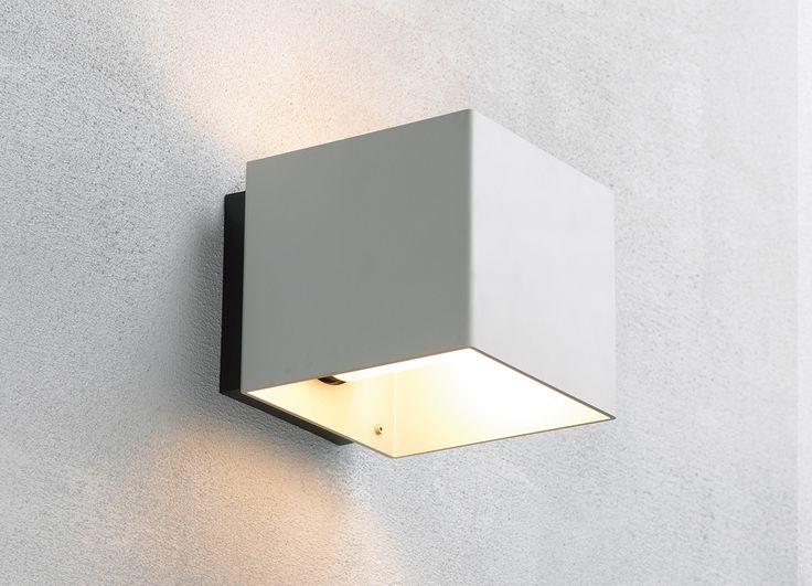 Welcome alu outdoor wall lamp