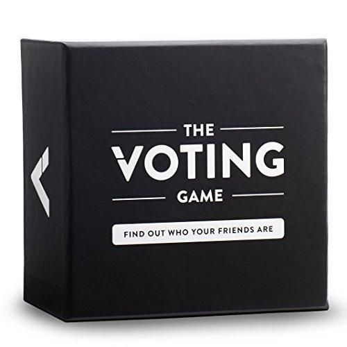 the voting game the adult party game about your friends