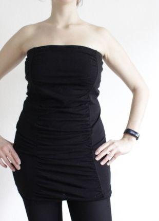 Kaufe meinen Artikel bei #Kleiderkreisel http://www.kleiderkreisel.de/damenmode/schulterfrei/126254414-schwarzes-tubetop-tubekleid-von-tally-weijl